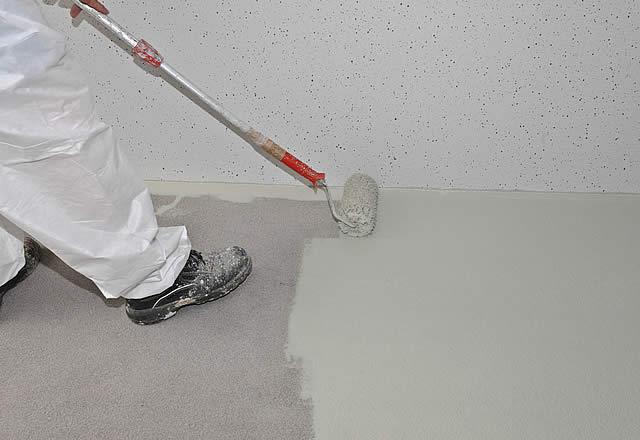 Fußboden In Garage Ausgleichen ~ Garagen innenräume von fertiggaragen professionell sanieren und