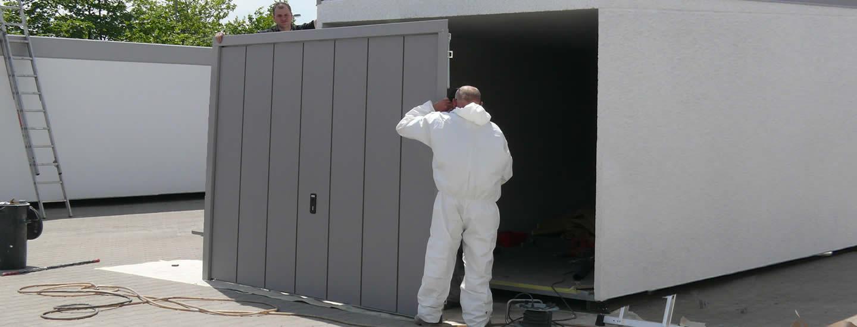 Gut gemocht ZAPF Garagenmodernisierung - wir renovieren, sanieren und CL99