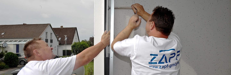 Charming ZAPF Modernisierungsexperten Beim Toreinbau. Garagentor Austauschen Vom  Fachmann