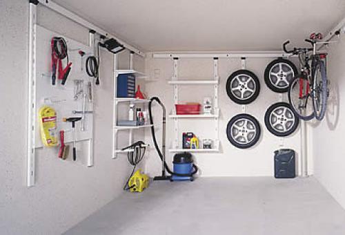 ordnung in der garage mit zapf innenraumsystemen zapf garagenmodernisierung wir renovieren. Black Bedroom Furniture Sets. Home Design Ideas